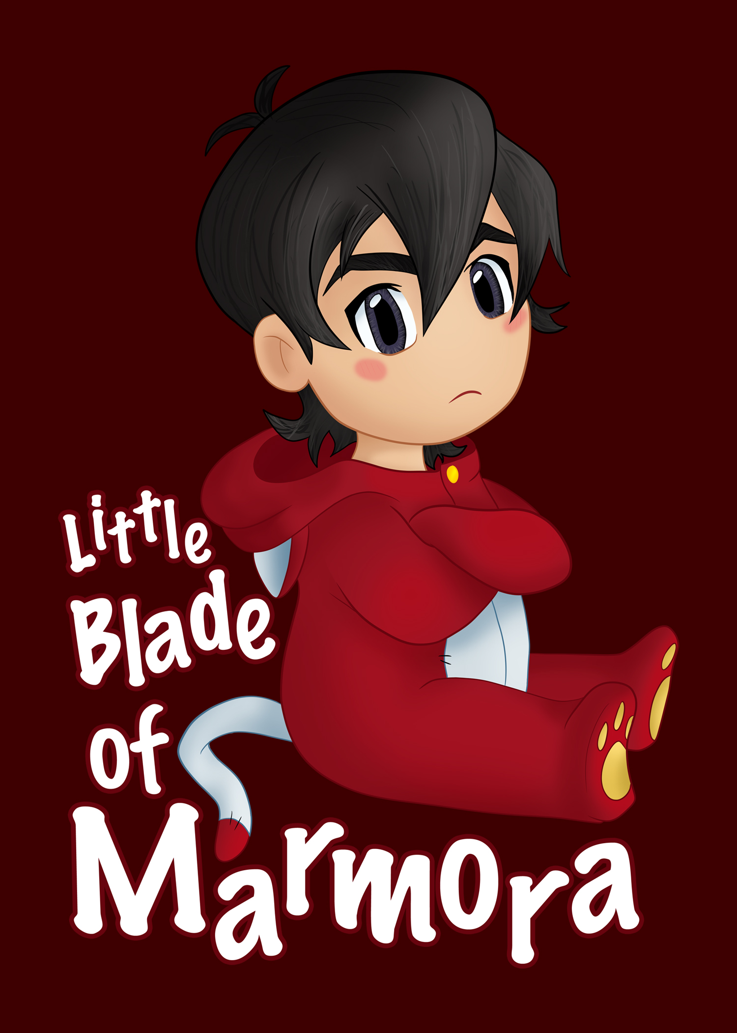 Chibi Keith digital painting. 2019.