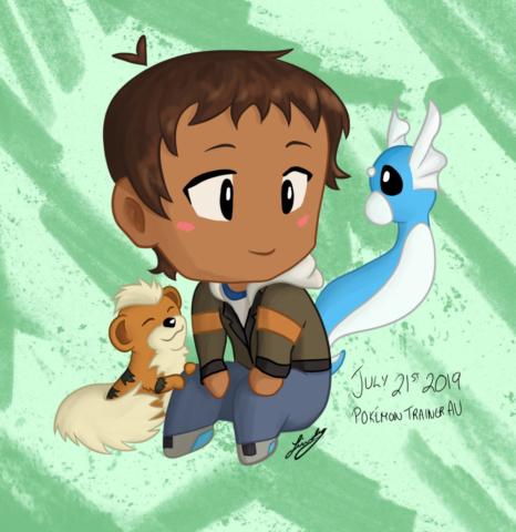 Chibi Pokemon Lance. 2019.