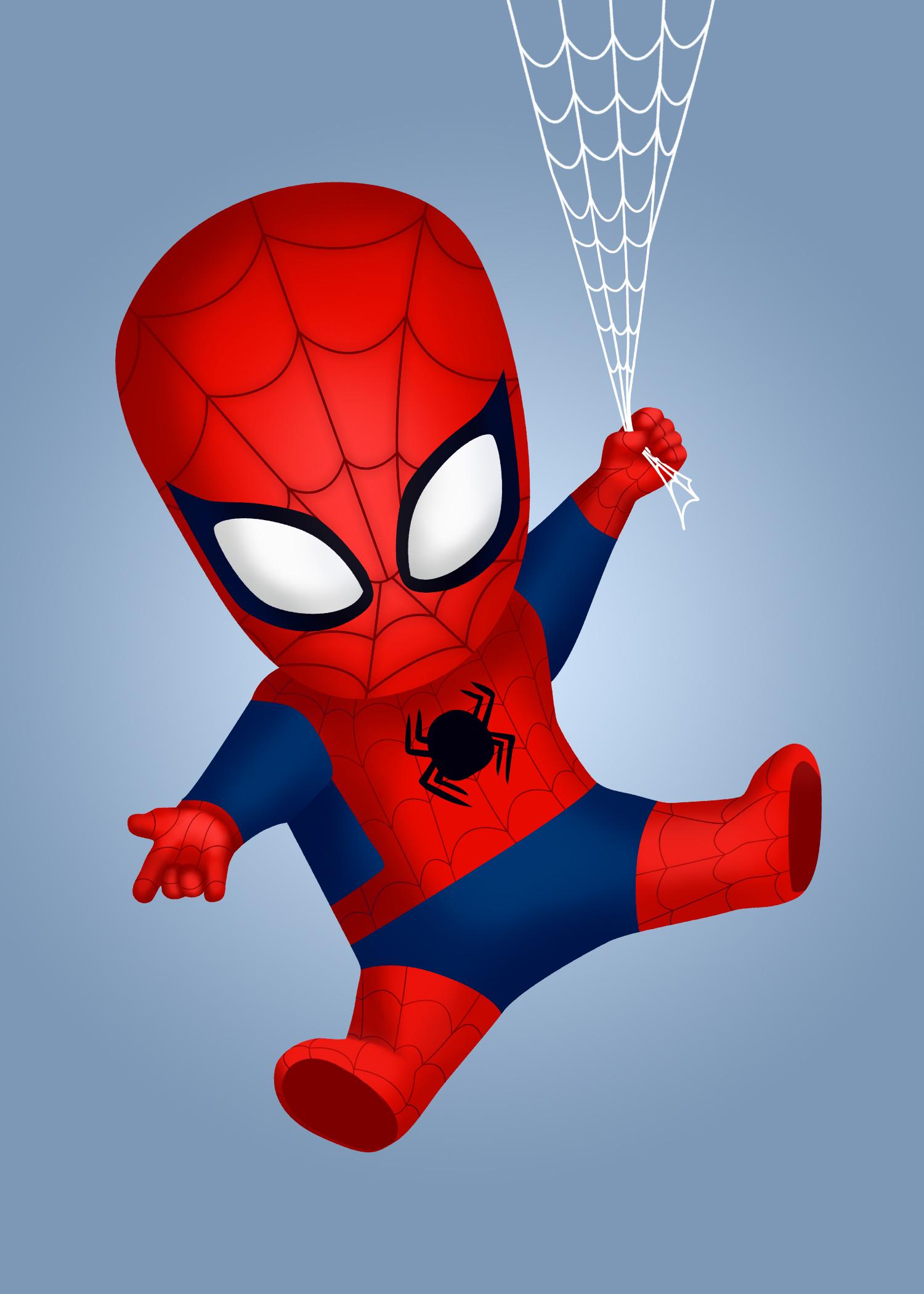 Chibi Spiderman. 2017.